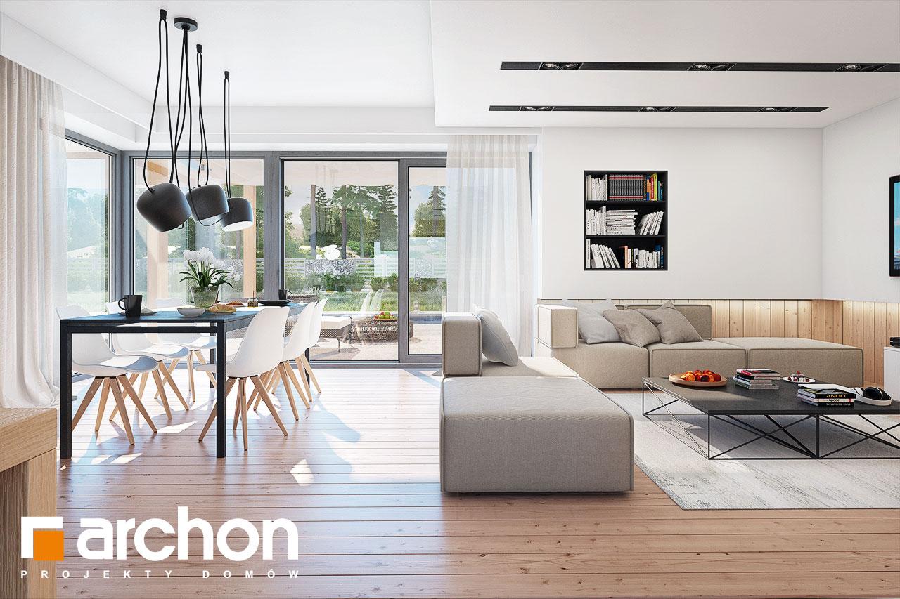 Проект будинку ARCHON+ Будинок в ісменах 2 (Г2) денна зона (візуалізація 1 від 5)