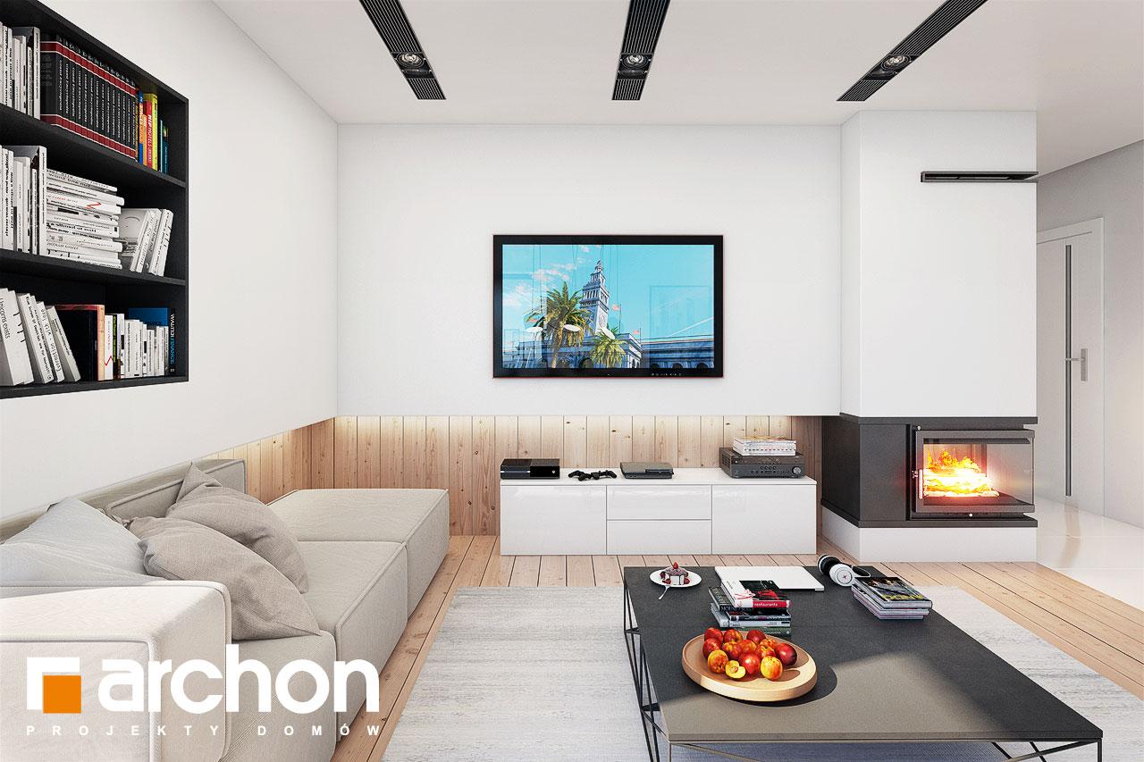 Проект будинку ARCHON+ Будинок в ісменах 2 (Г2) денна зона (візуалізація 1 від 6)