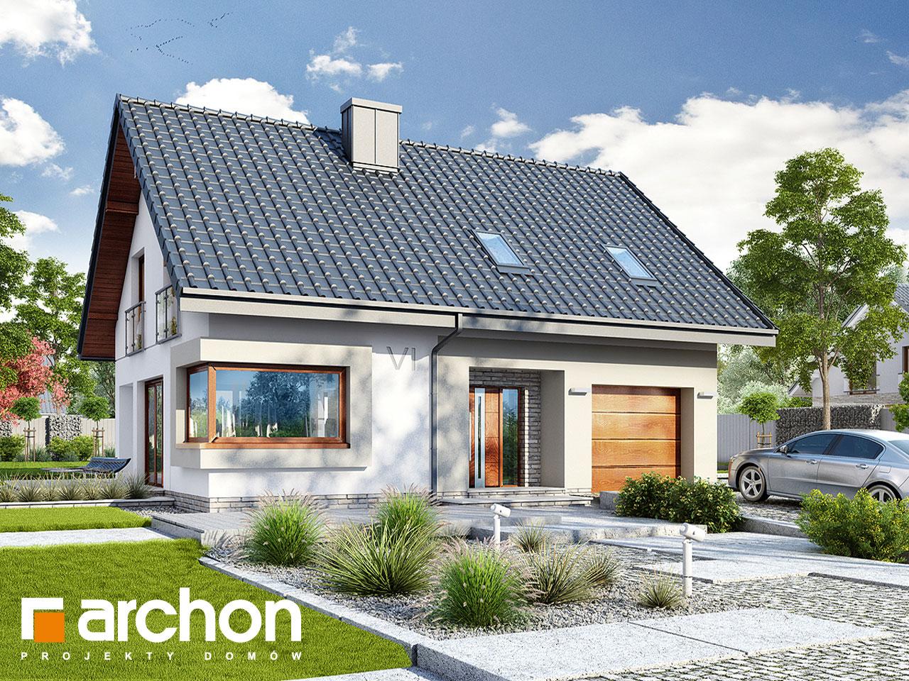 Проект дома ARCHON+ Дом в изопируме додаткова візуалізація