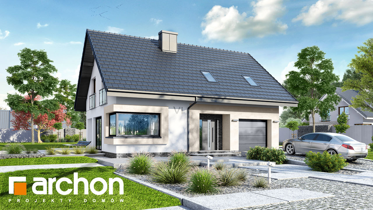 Проект дома ARCHON+ Дом в изопируме