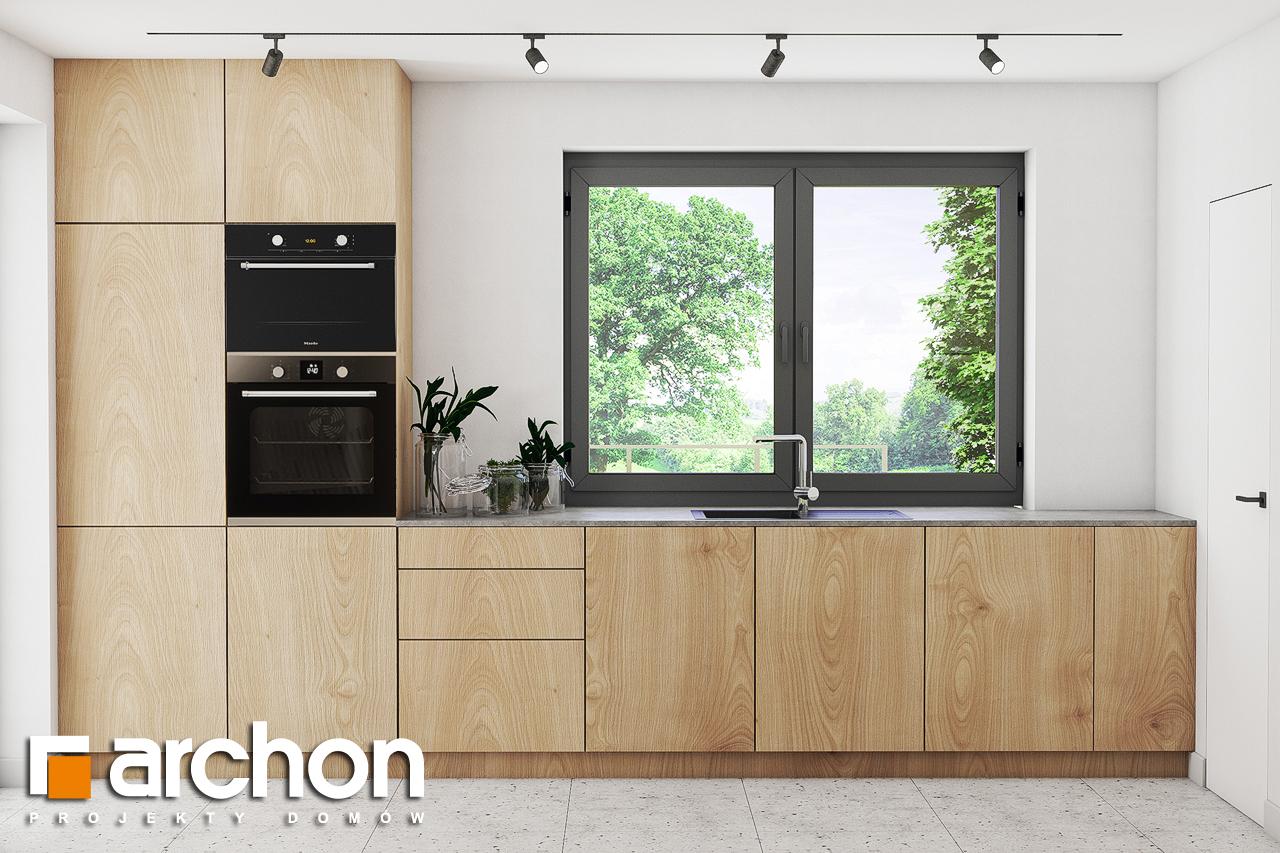 Проект будинку ARCHON+ Будинок в ізопірумі візуалізація кухні 1 від 1