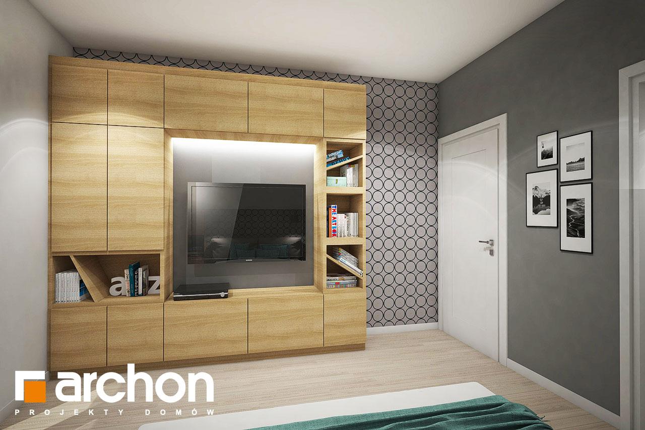 Проект будинку ARCHON+ Будинок в ізопірумі нічна зона (візуалізація 1 від 4)