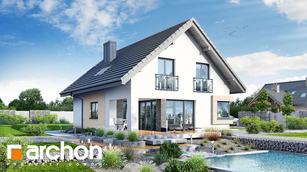 Проект будинку ARCHON+ Будинок в ізопірумі Вид 2