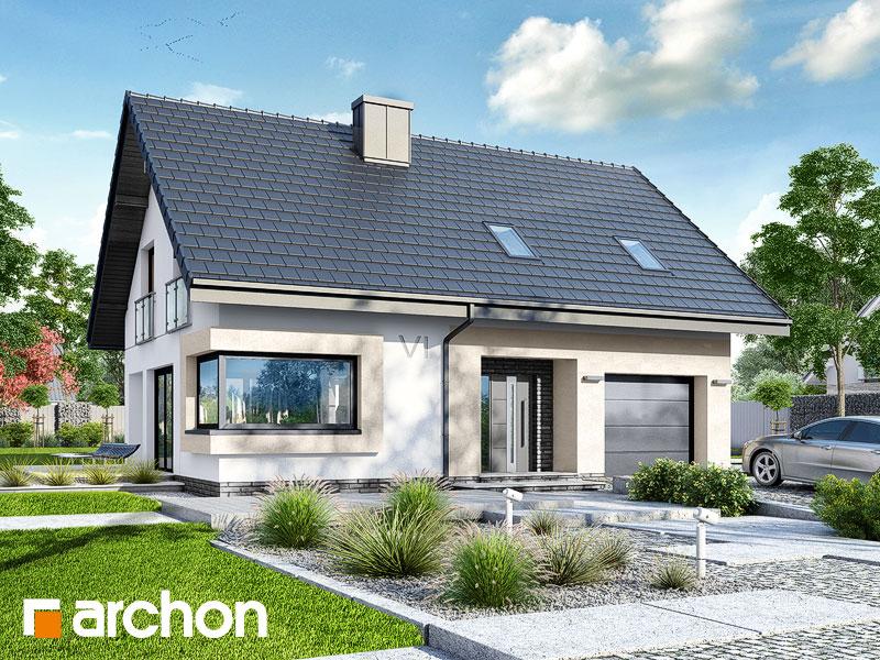Проект дома ARCHON+ Дом в изопируме Вид 1