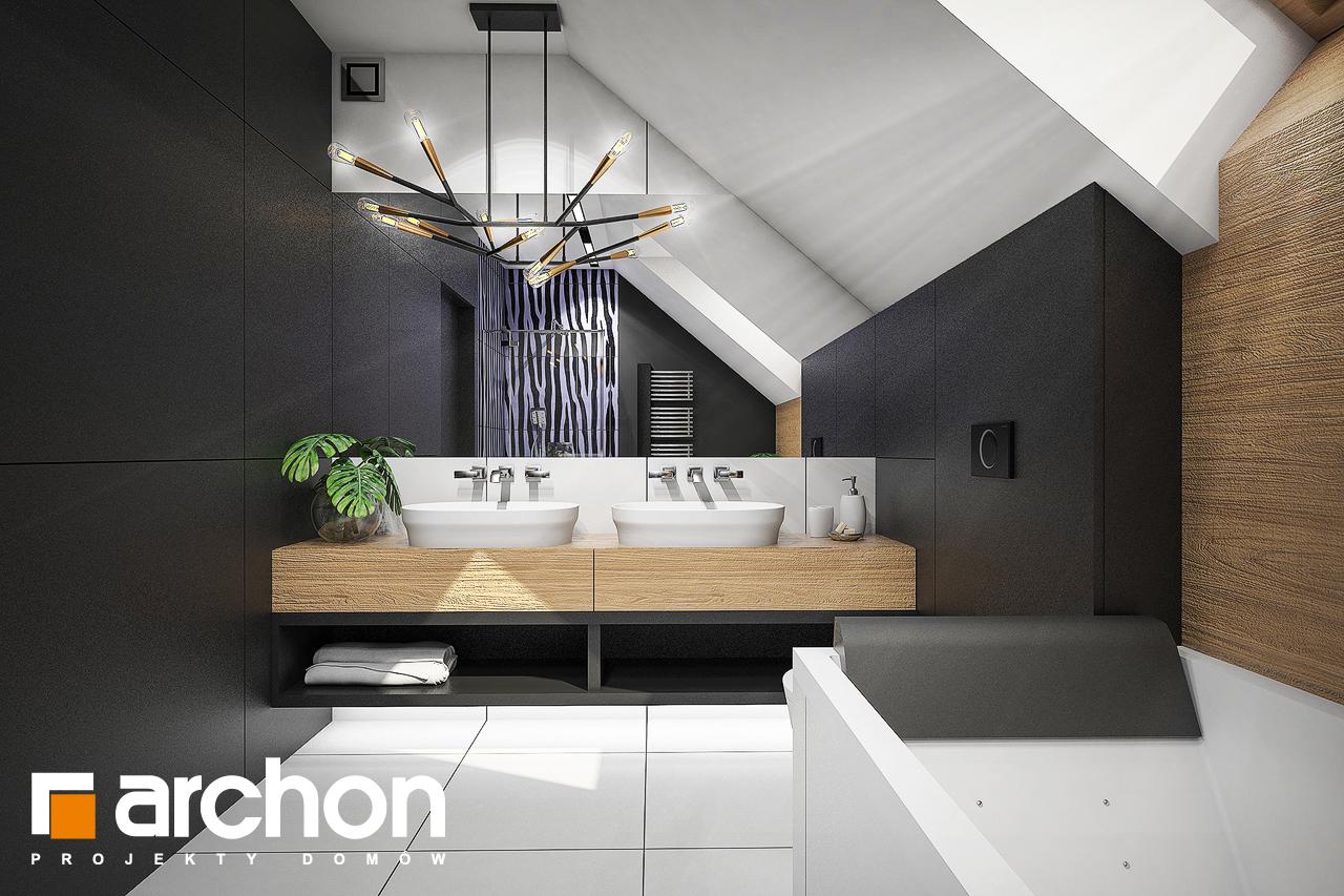 Проект будинку ARCHON+ Будинок в аммобіумі (Г2) візуалізація ванни (візуалізація 3 від 1)