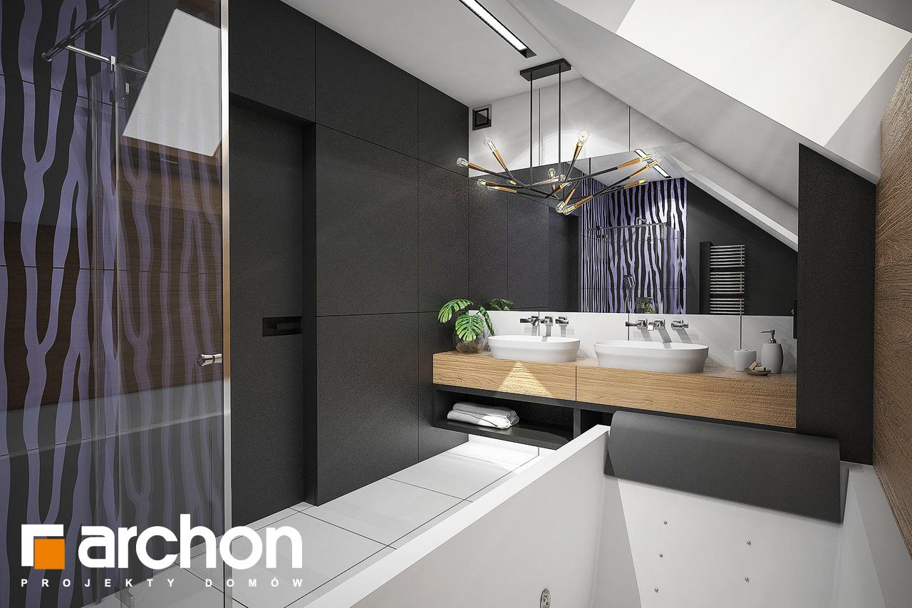 Проект будинку ARCHON+ Будинок в аммобіумі (Г2) візуалізація ванни (візуалізація 3 від 2)