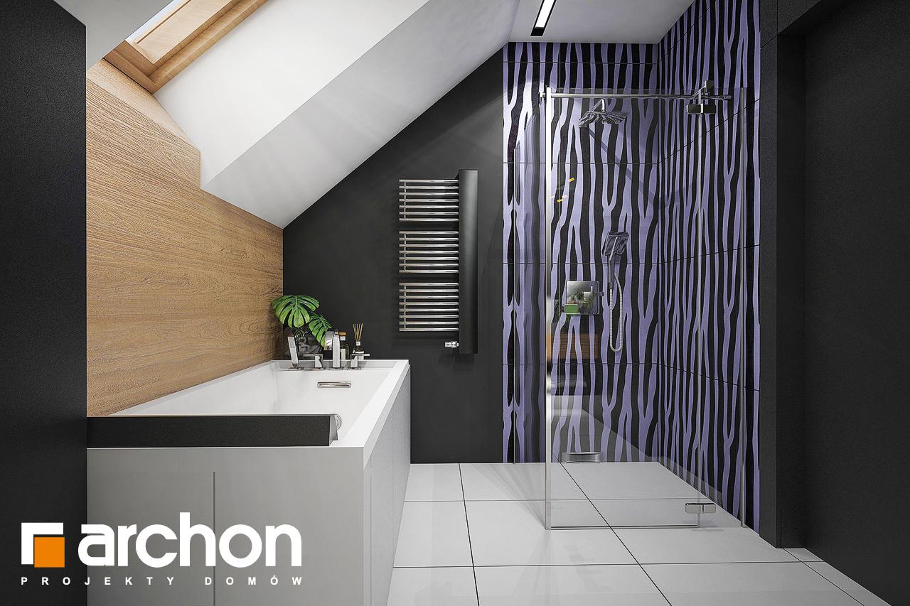Проект будинку ARCHON+ Будинок в аммобіумі (Г2) візуалізація ванни (візуалізація 3 від 3)