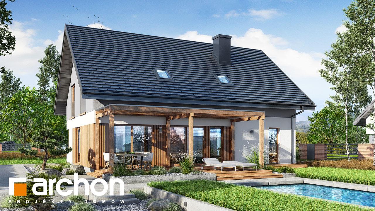 Проект будинку ARCHON+ Будинок в аммобіумі (Г2) Вид 2