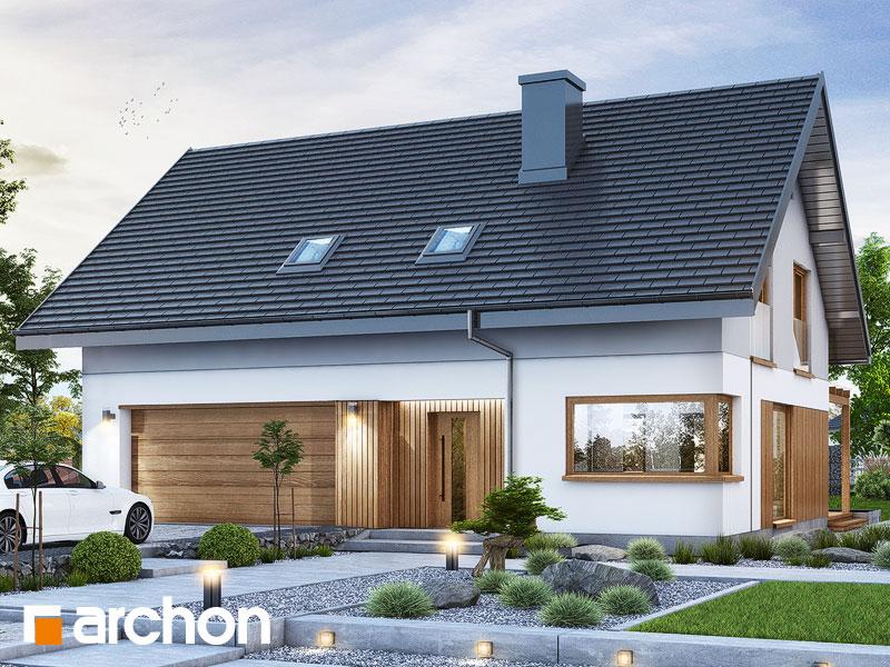 Проект будинку ARCHON+ Будинок в аммобіумі (Г2) Вид 1