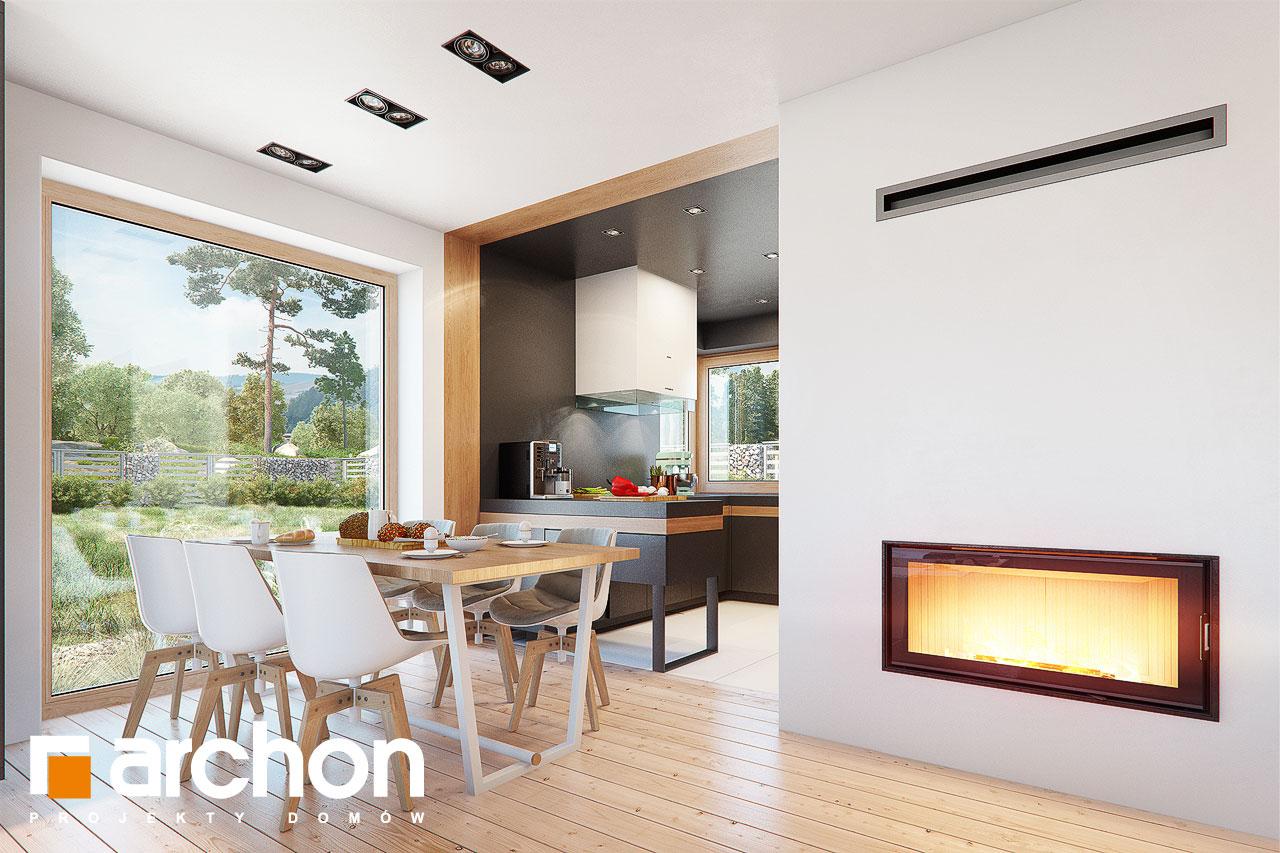 Проект будинку ARCHON+ Будинок в аммобіумі (Г2) денна зона (візуалізація 1 від 4)