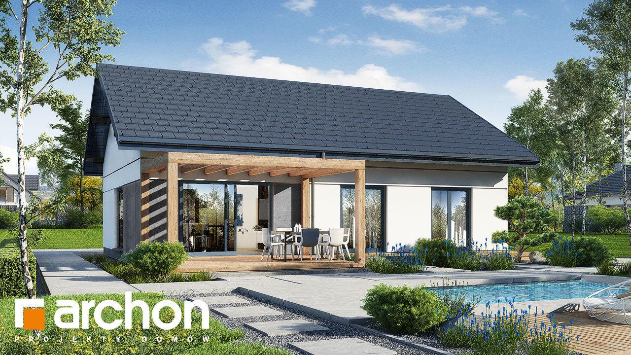 Проект будинку ARCHON+ Будинок у вівсянниці 9 (Е)