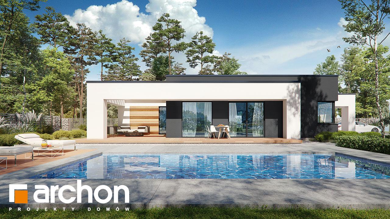 Проект будинку ARCHON+ Будинок в ренклодах 8 (Г2) Вид 2