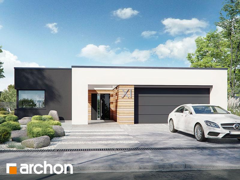 Проект будинку ARCHON+ Будинок в ренклодах 8 (Г2) Вид 1