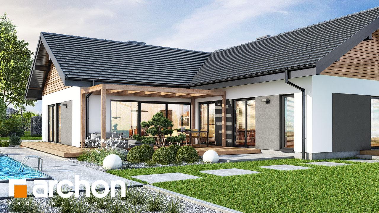 Проект будинку ARCHON+ Будинок у відличках 2 (Г2) Вид 2