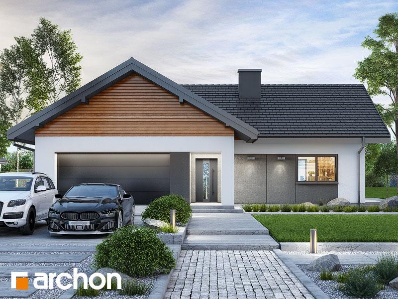 Проект дома ARCHON+ Дом в видличках 2 (Г2) Вид 1