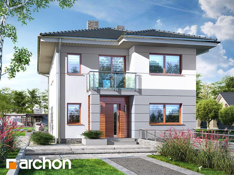 Проект будинку ARCHON+ Вілла Юлія 8 (П) Вид 1
