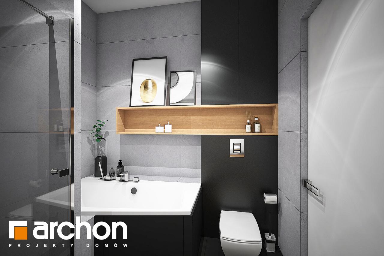 Проект дома ARCHON+ Дом в навлоциях 3 (Г2) визуализация ванной (визуализация 3 вид 2)