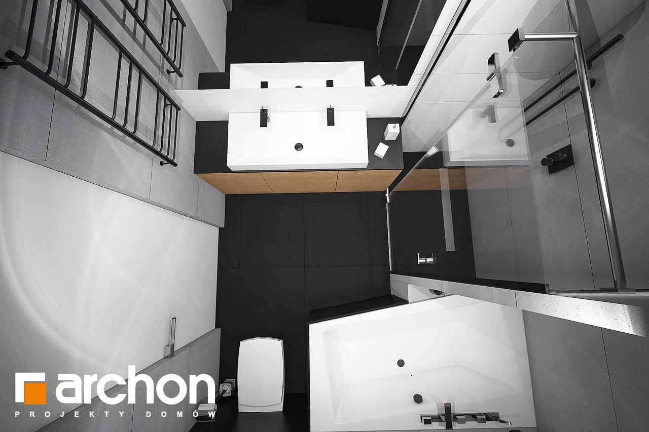 Проект дома ARCHON+ Дом в навлоциях 3 (Г2) визуализация ванной (визуализация 3 вид 4)