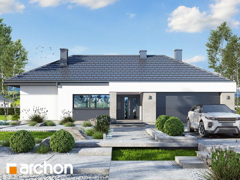 Проект дома ARCHON+ Дом в навлоциях 3 (Г2) Вид 1