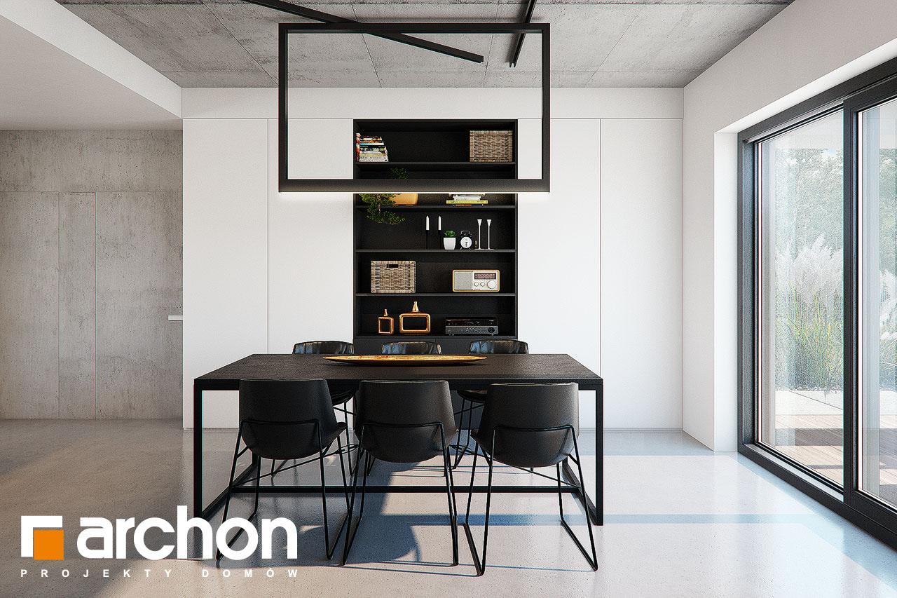 Проект дома ARCHON+ Дом в навлоциях 3 (Г2) дневная зона (визуализация 1 вид 5)
