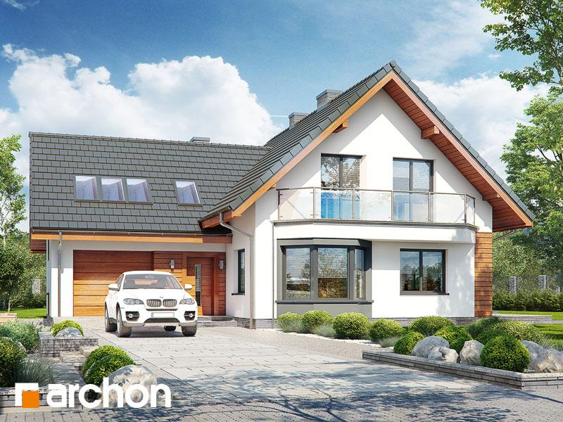 Проект будинку ARCHON+ Будинок на поляні 2 Вид 1