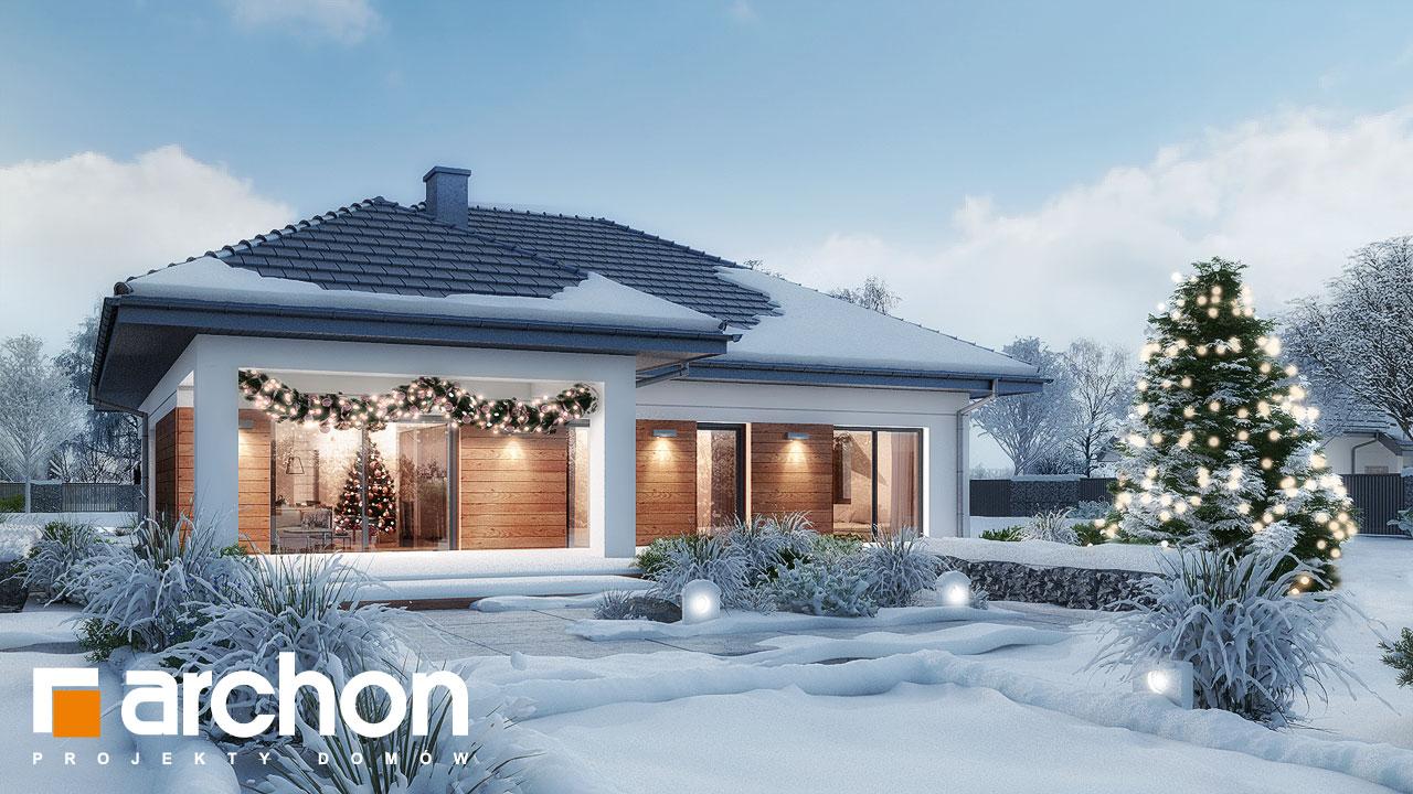 Проект будинку ARCHON+ Будинок в жонкілях (Г2) додаткова візуалізація