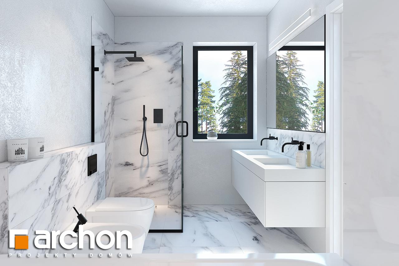 Проект будинку ARCHON+ Будинок в нарцисах (Г2) візуалізація ванни (візуалізація 3 від 1)