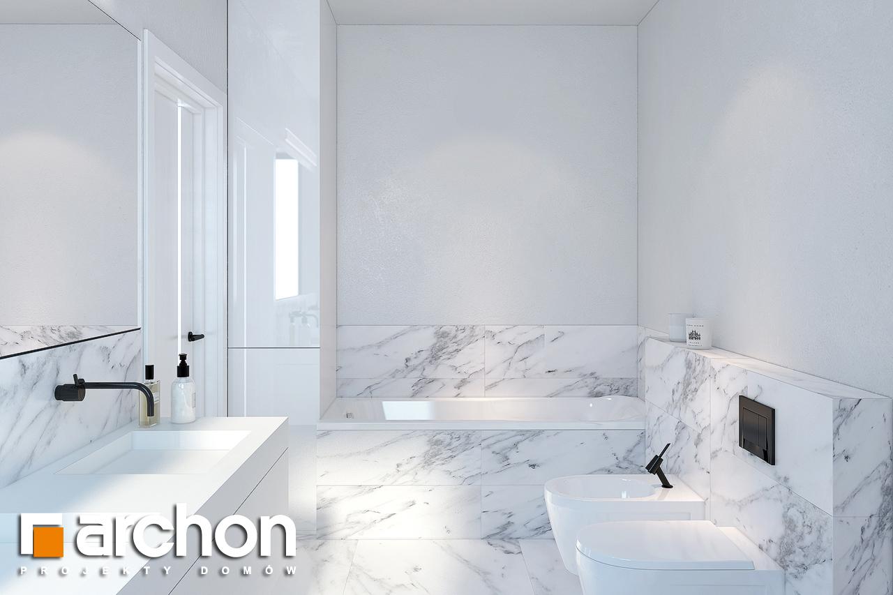 Проект будинку ARCHON+ Будинок в нарцисах (Г2) візуалізація ванни (візуалізація 3 від 3)
