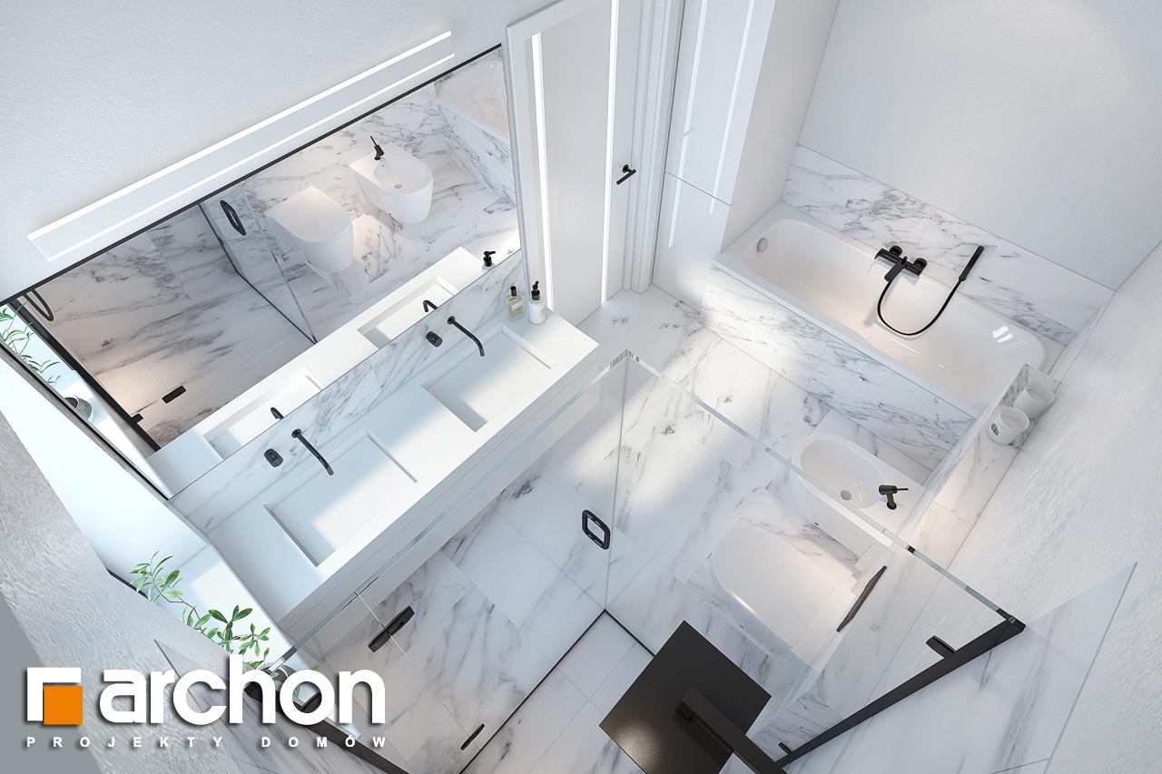 Проект будинку ARCHON+ Будинок в нарцисах (Г2) візуалізація ванни (візуалізація 3 від 4)