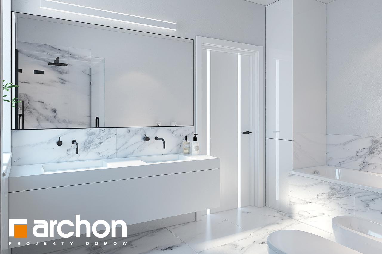 Проект будинку ARCHON+ Будинок в жонкілях (Г2) візуалізація ванни (візуалізація 3 від 2)
