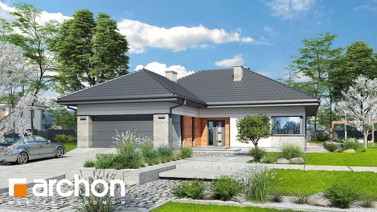 Проект будинку ARCHON+ Будинок в нарцисах (Г2) Вид 2