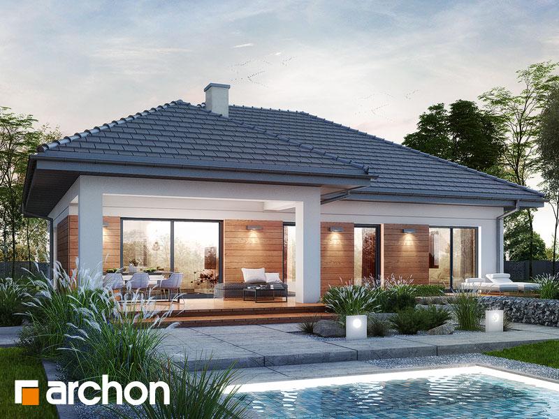 Проект будинку ARCHON+ Будинок в нарцисах (Г2) Вид 1