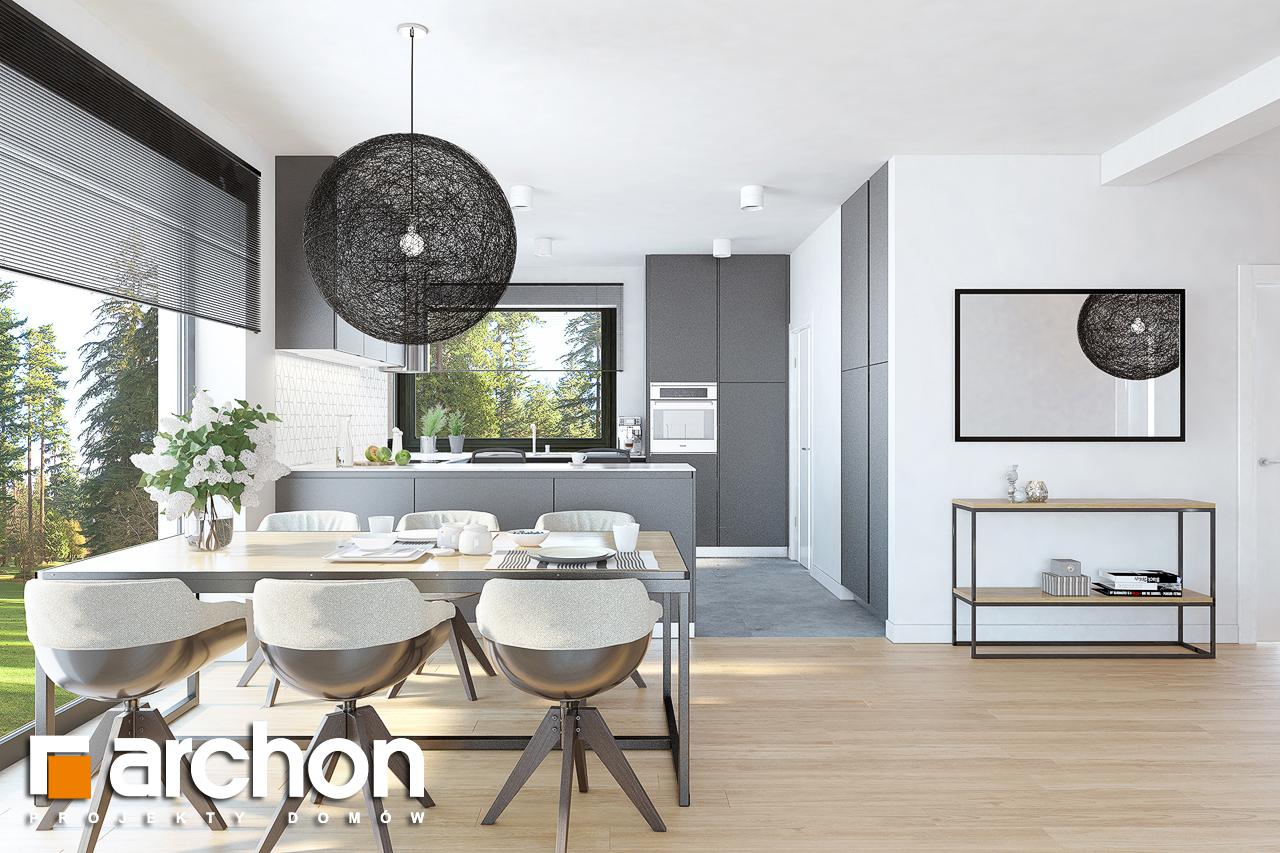 Проект будинку ARCHON+ Будинок в жонкілях (Г2) денна зона (візуалізація 1 від 5)