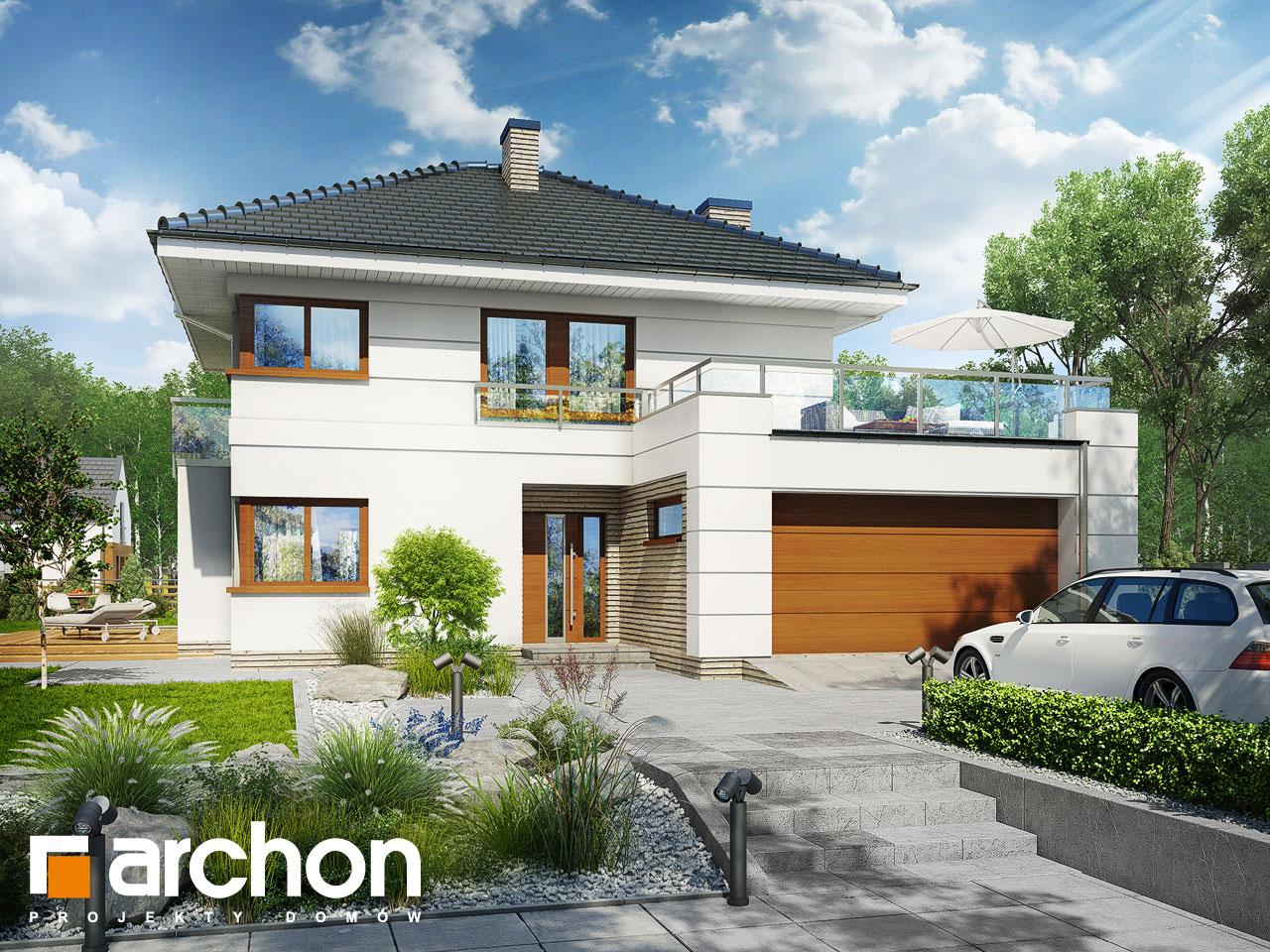 Проект будинку ARCHON+ Вілла Еліза 4 (Г2) Вид 2
