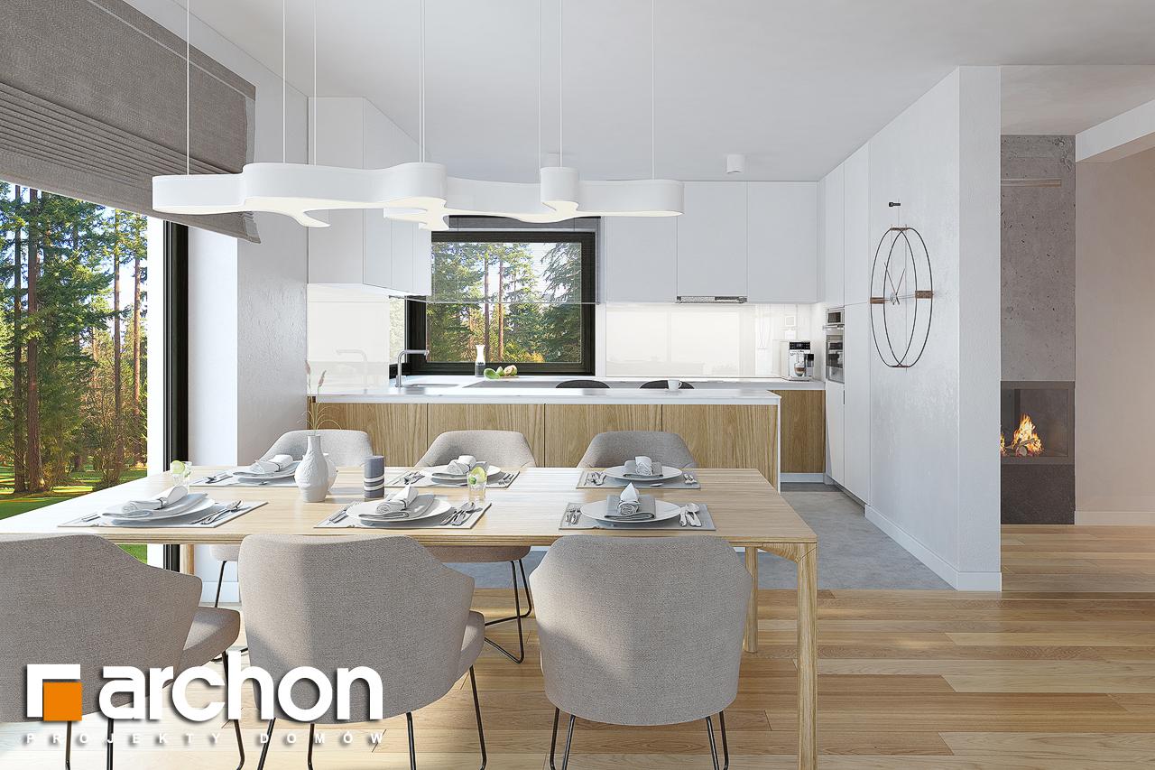 Проект будинку ARCHON+ Будинок під горобиною 8 (ГН)  візуалізація кухні 1 від 1