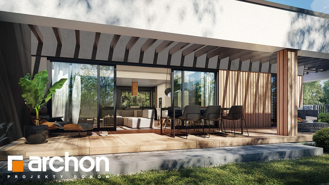 Проект дома ARCHON+ Дом в навлоциях 5 (Г2) додаткова візуалізація