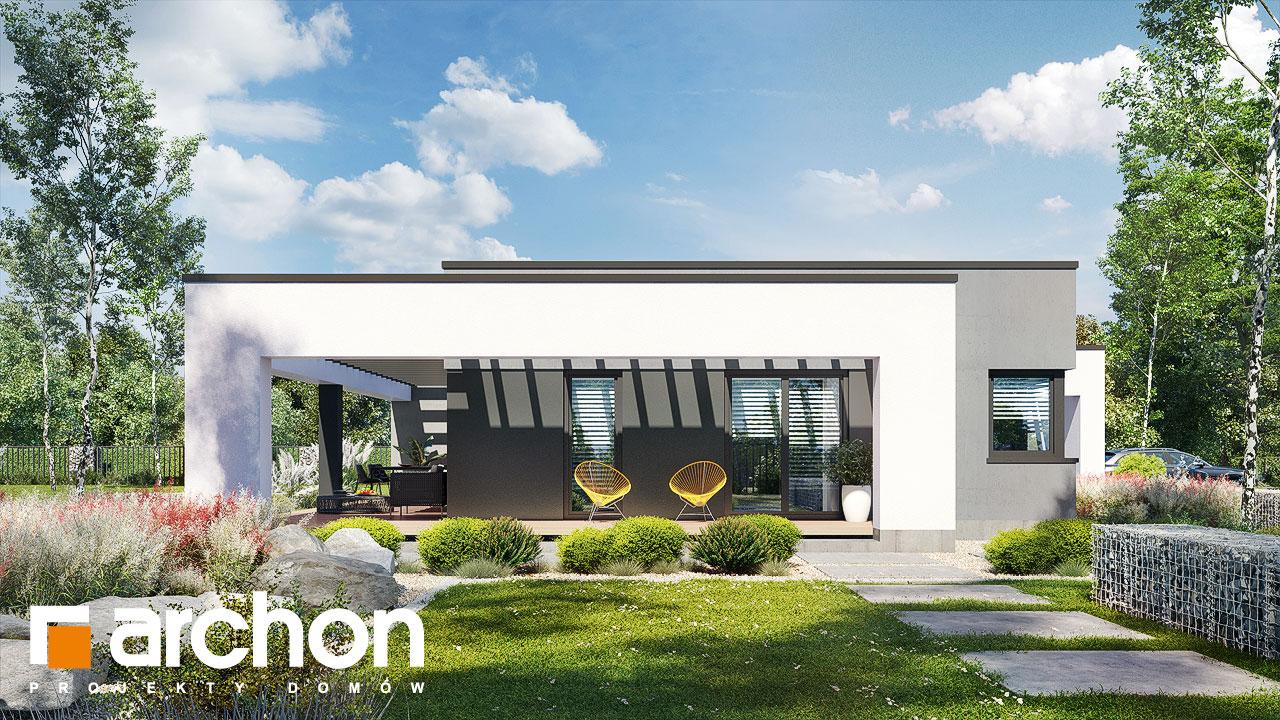 Проект дома ARCHON+ Дом в навлоциях 5 (Г2) стилизация 6