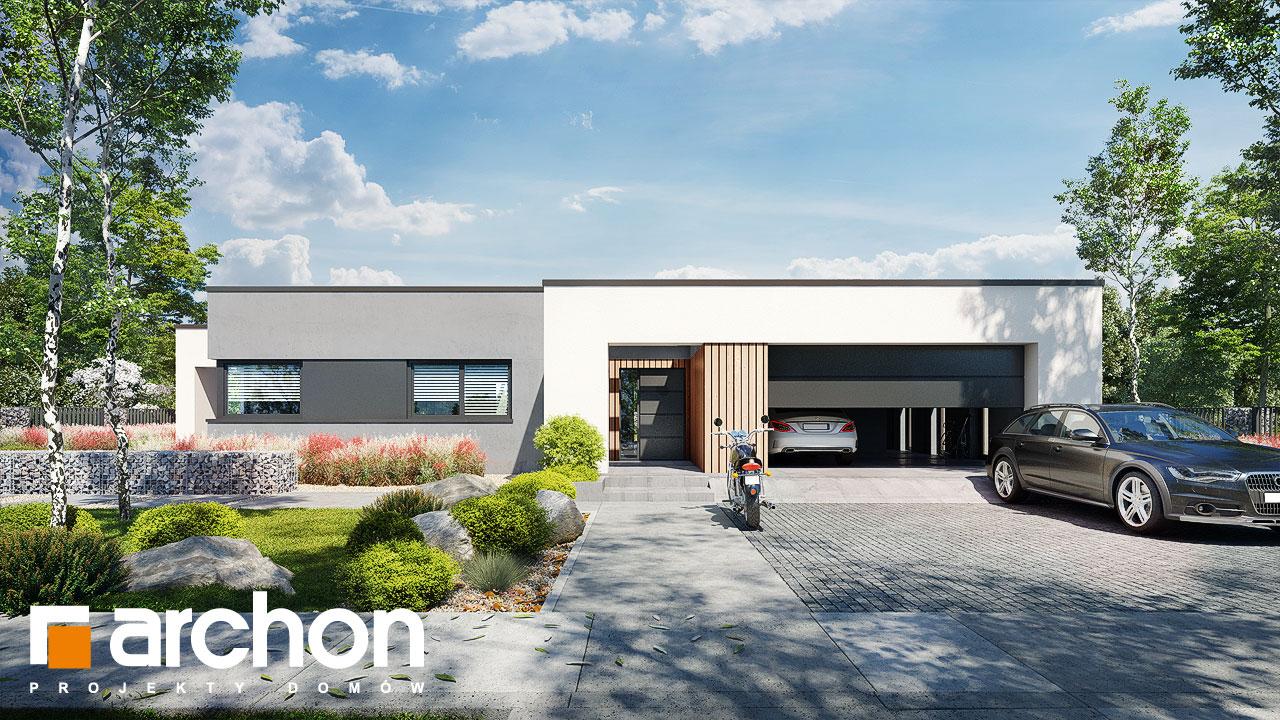 Проект дома ARCHON+ Дом в навлоциях 5 (Г2) Вид 2