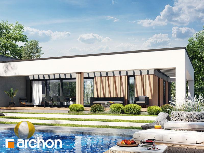 Проект дома ARCHON+ Дом в навлоциях 5 (Г2) Вид 1