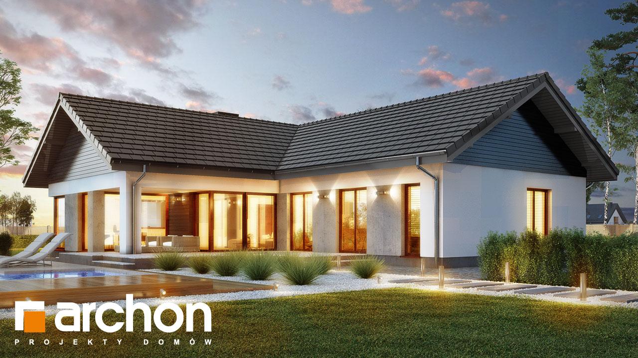 Проект будинку ARCHON+ Будинок у відличках додаткова візуалізація