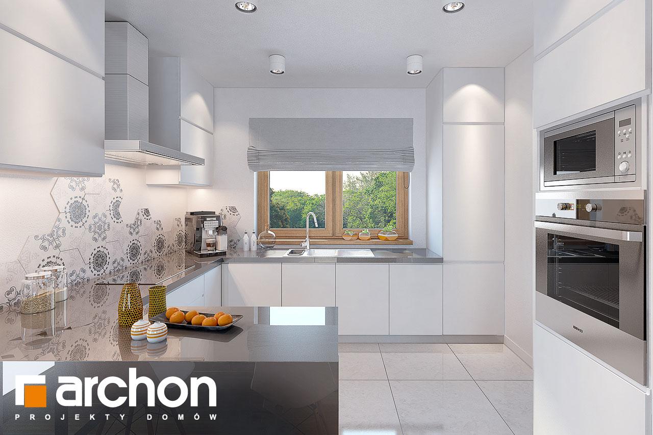 Проект будинку ARCHON+ Будинок у вівсянніці візуалізація кухні 1 від 1