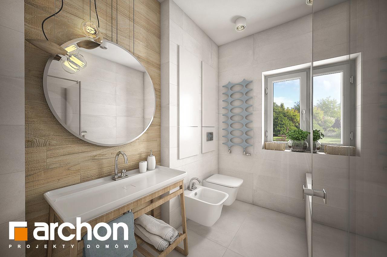 Проект будинку ARCHON+ Будинок у вівсянніці візуалізація ванни (візуалізація 3 від 1)