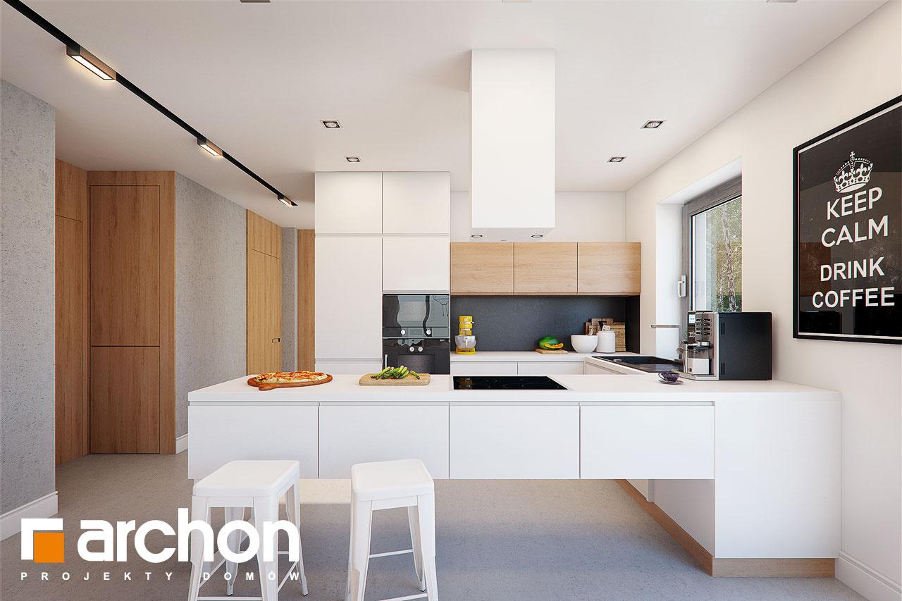 Проект будинку ARCHON+ Будинок під помаранчею (СМ) візуалізація кухні 1 від 1