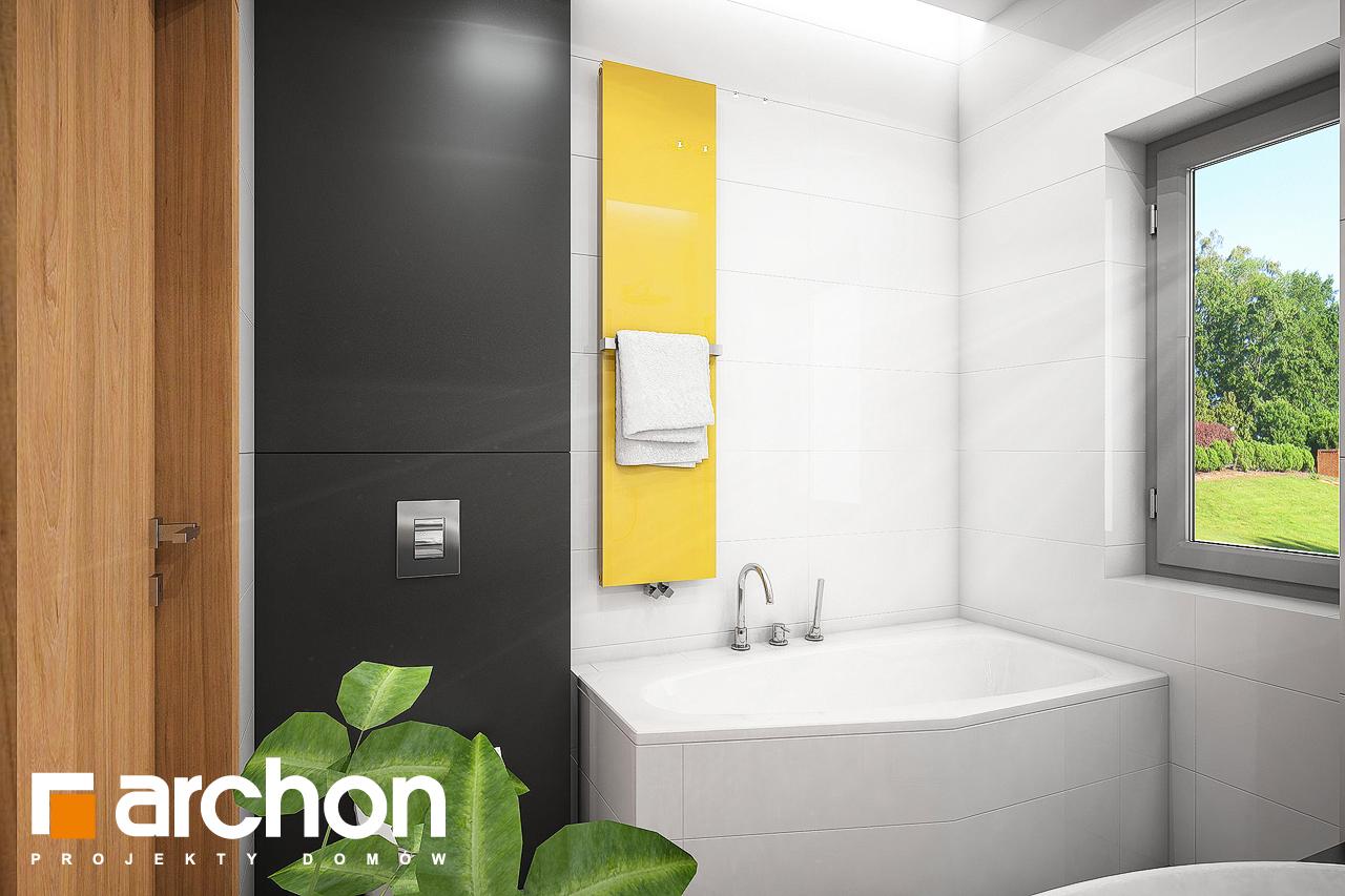 Проект будинку ARCHON+ Будинок під помаранчею (СМ) візуалізація ванни (візуалізація 3 від 1)