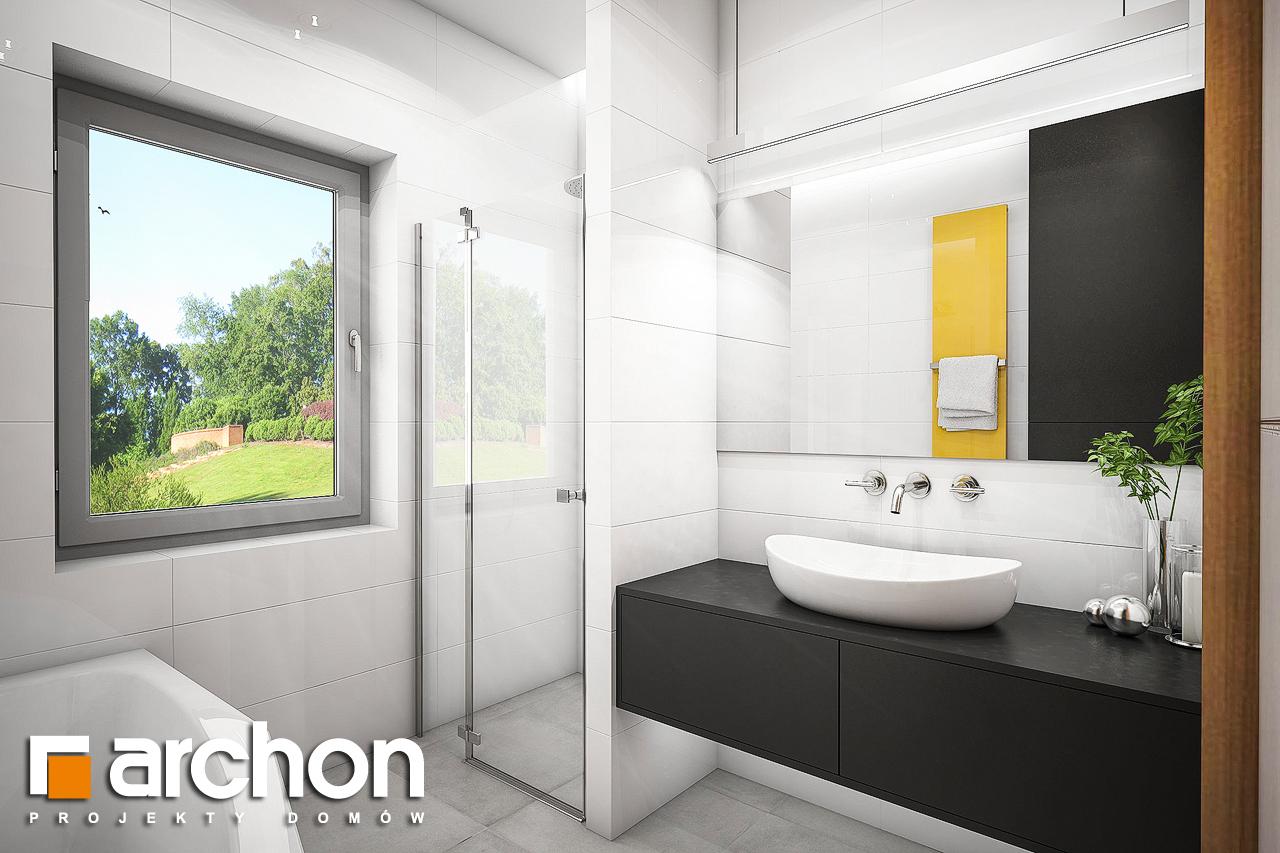 Проект будинку ARCHON+ Будинок під помаранчею (СМ) візуалізація ванни (візуалізація 3 від 2)