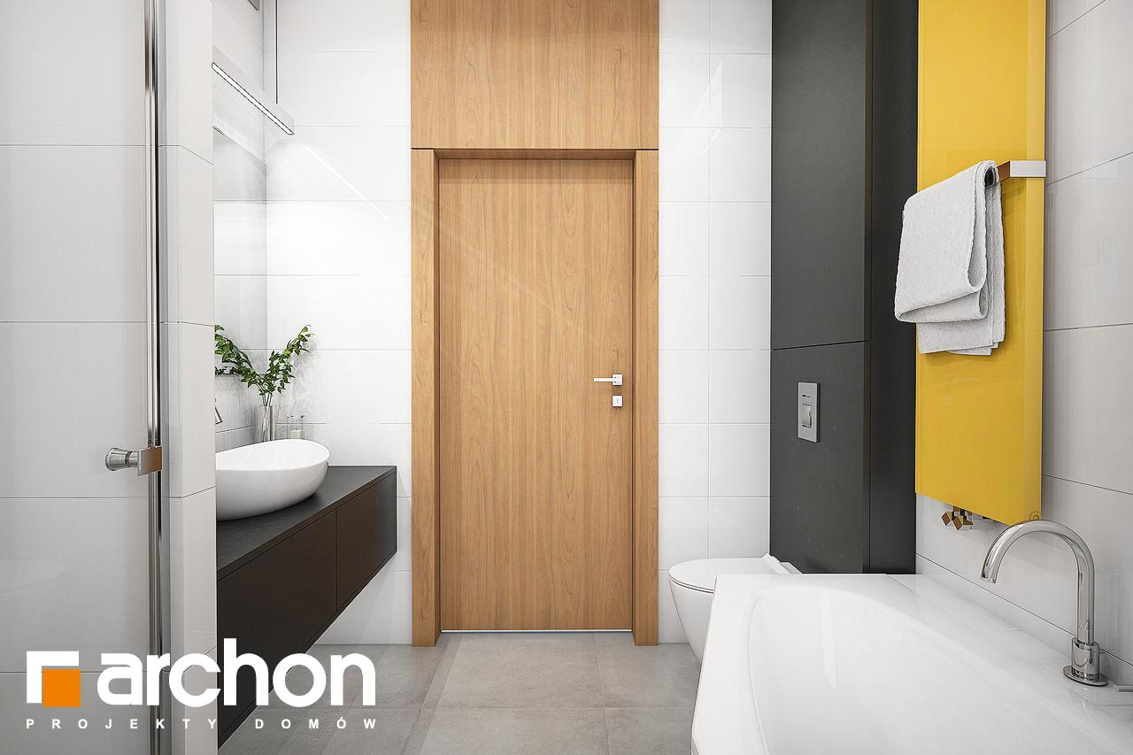 Проект будинку ARCHON+ Будинок під помаранчею (СМ) візуалізація ванни (візуалізація 3 від 3)
