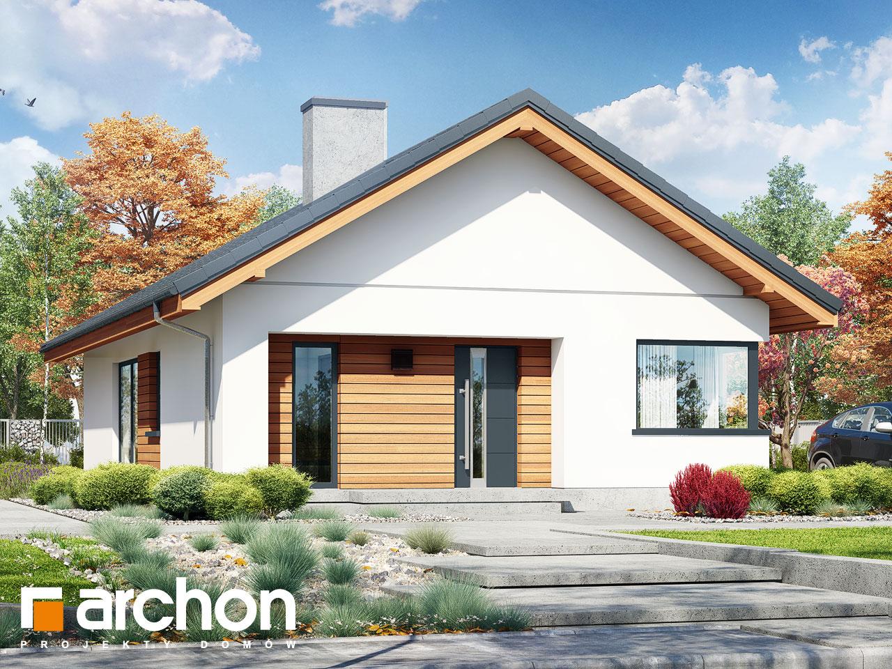 Проект будинку ARCHON+ Будинок під помаранчею (СМ) Вид 2