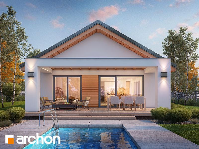 Проект будинку ARCHON+ Будинок під помаранчею (СМ) Вид 1