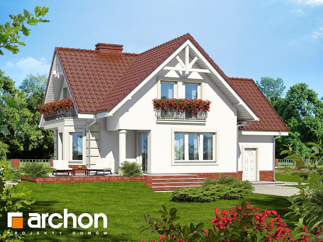Проект будинку ARCHON+ Будинок під гірською сосною (П) вер.2 Вид 2