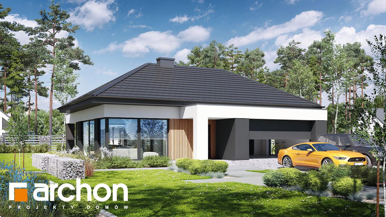 Проект будинку ARCHON+ Будинок в галантусах (Г2) додаткова візуалізація